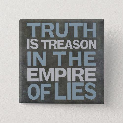 Basalt thruth is treason long_26 pinback button
