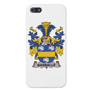 Basballe Family Crest iPhone 5 Covers