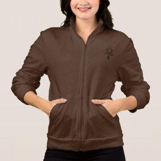Basculador del paño grueso y suave de la mujer de  chaquetas deportivas