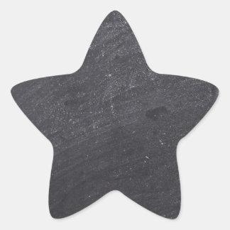 Base adaptable de la pizarra pegatina en forma de estrella