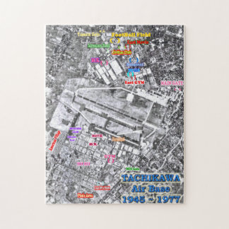 Base aérea Japón 1945-1977 de Tachikawa Puzzle