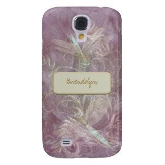 Base cambiante del color floral del Flourish de Funda Para Galaxy S4
