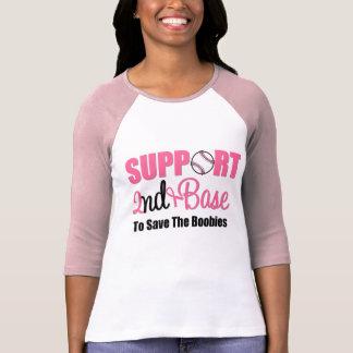 Base de la ayuda del cáncer de pecho 2da camisas