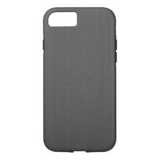Base de la fibra de carbono funda iPhone 7