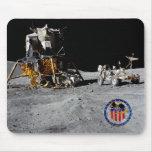 Base de la luna de Apolo 16 Alfombrilla De Ratones