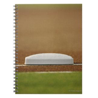 Base del béisbol cuaderno