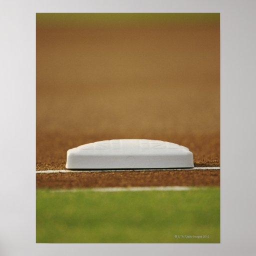 Base del béisbol impresiones