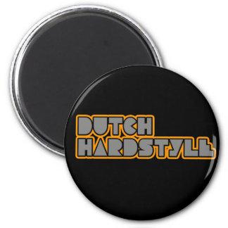 Base del qlimax q de la música de Hardstyle Hardba Imán Redondo 5 Cm