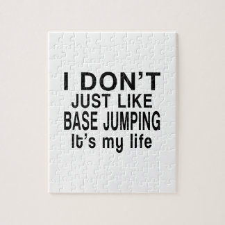 BASE JUMPING IS MY LIFE PUZZLE