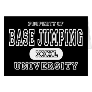 Base Jumping University Dark Card