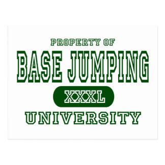 Base Jumping University Postcard