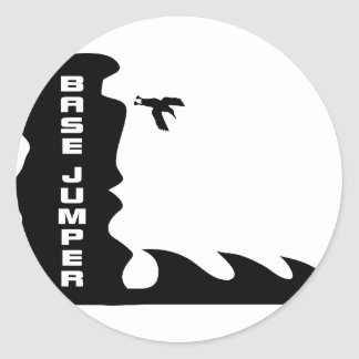 base more jumper jumping basejump stickers