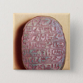 Base of a marriage scarab of Amenhotep III Button