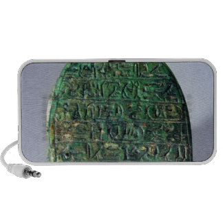 Base of a marriage scarab of Amenhotep III iPhone Speaker