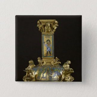 Base of the Cross of St. Bertin Button
