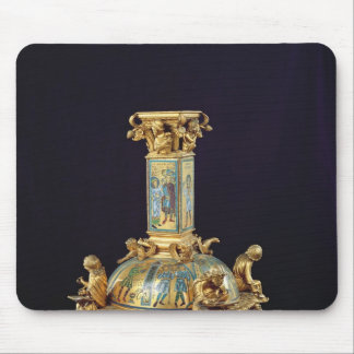 Base of the Cross of St. Bertin Mouse Pad