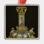 Base of the Cross of St. Bertin Christmas Tree Ornaments