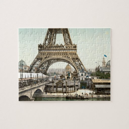 Base of The Eiffel Tower Jigsaw Puzzles