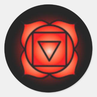 Base Root Chakra Stickers