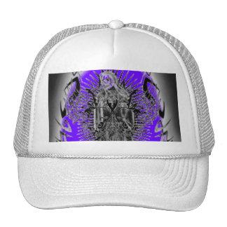 Base tribal del cráneo del ala del parca… - Modifi Gorros