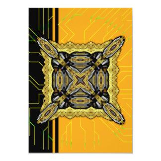 Base Xtreme de la energía Invitación 12,7 X 17,8 Cm