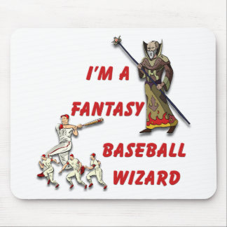 Basebal Wizard #2 Mouse Pad