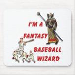 Basebal Wizard #2 Mousepads