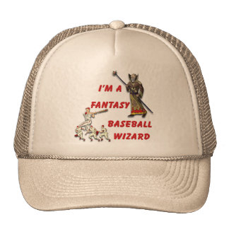 Basebal Wizard #2 Trucker Hat