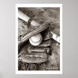 Baseball1 Poster Print
