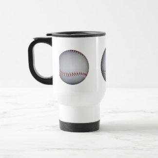 Baseball 15 Oz Stainless Steel Travel Mug