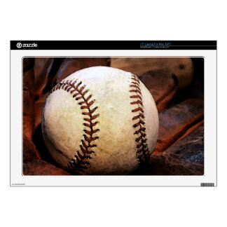 "Baseball 17"" Laptop Skins"