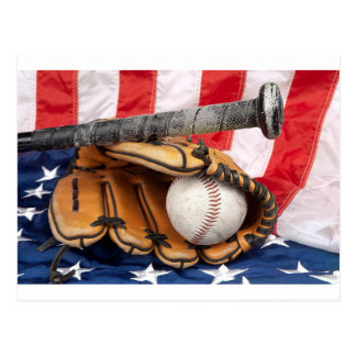 Baseball 18 USA Postcard