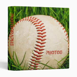 "Baseball 1"" Photo Album Binder"