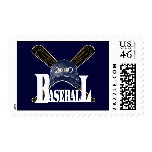 Baseball 2009 postage stamps