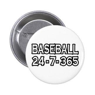 Baseball 24-7-365 button