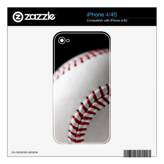 Baseball 2 decals for iPhone 4S