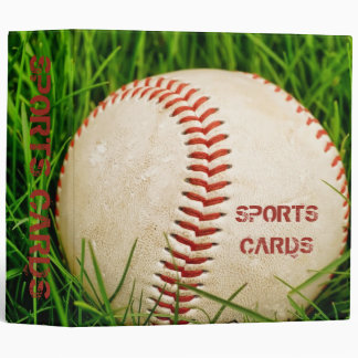 "Baseball 2"" Sports Card Binder"