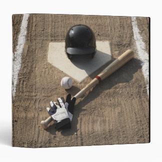 Baseball 3 Ring Binder