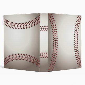 Baseball 3 Ring Binders