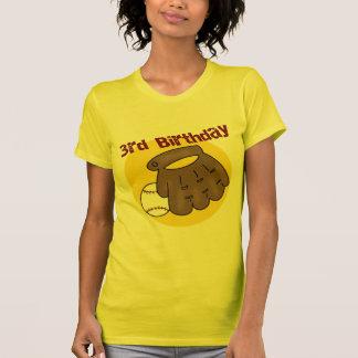 Baseball 3rd Birthday Gifts T-Shirt