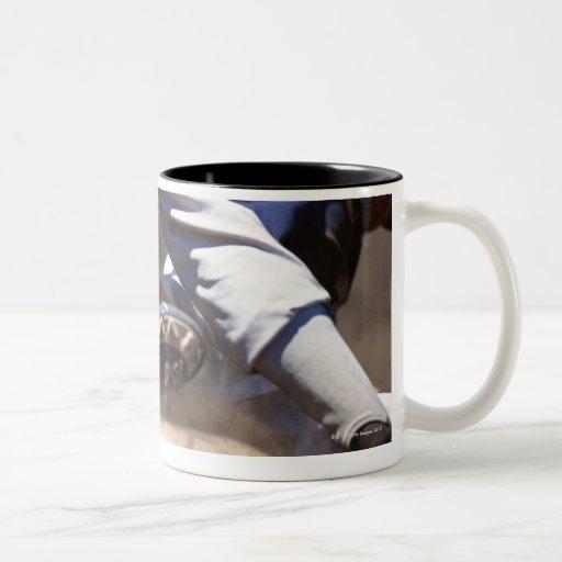 Baseball 6 Two-Tone coffee mug