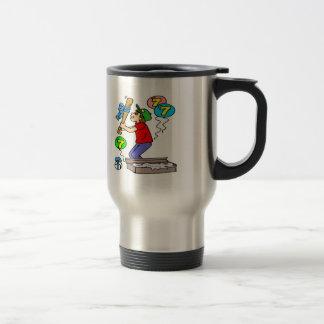 Baseball 7th Birthday Gifts 15 Oz Stainless Steel Travel Mug