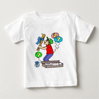 Baseball 7th Birthday Gifts T-shirts