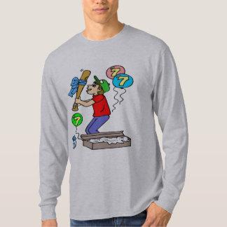 Baseball 7th Birthday Gifts Tee Shirt