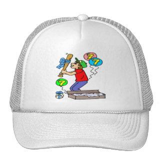 Baseball 7th Birthday Gifts Trucker Hat