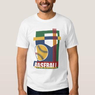 Baseball abstract t-shirt