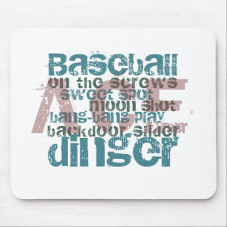 Baseball Ace Gifts & T-Shirts Mouse Pad