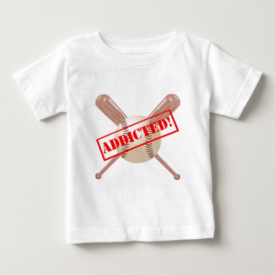 Baseball Addict Baby T-Shirt