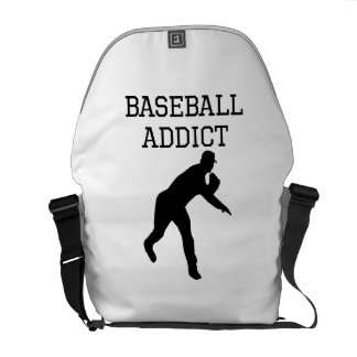 Baseball Addict Courier Bag