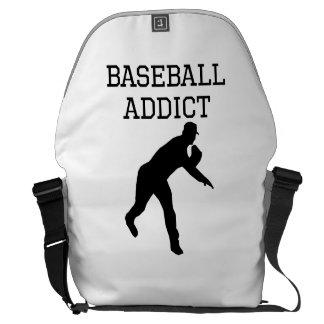 Baseball Addict Messenger Bag